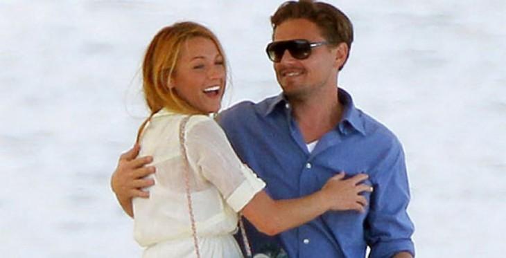 Blake Lively y Leonardo DiCaprio