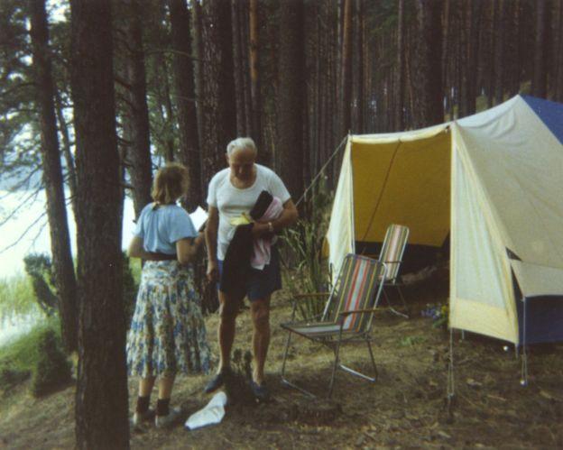 Cardenal Wojtyla y  Anna-Teresa Tymieniecka en 1978