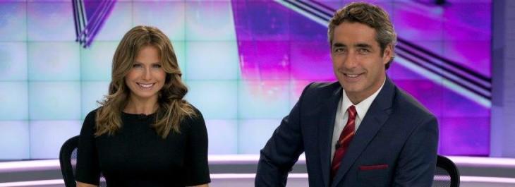 Conductores de Ahora Noticias, noticiario denunciado al CNTV