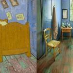Artista recrea habitación de Van Gogh y la arrienda a 7 mil pesos la noche