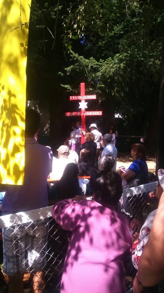Fiesta religiosa Virgen de la Candelaria a 3 kilómetros de Osorno en Misión Rahue