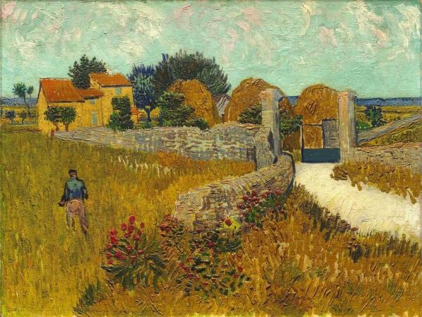 Granja en Provence | Van Gogh | Luca Agnani