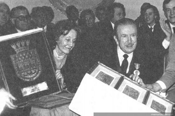 Homenaje en el centenario de natalicio de Claudio Arrau | Sociedad Musical Santa Cecilia | Memoria Chilena