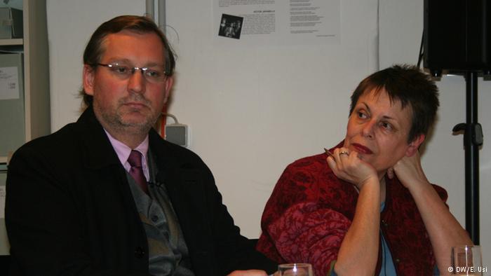 Los abogados Petra Schlagenhauf y Winfried Hempel