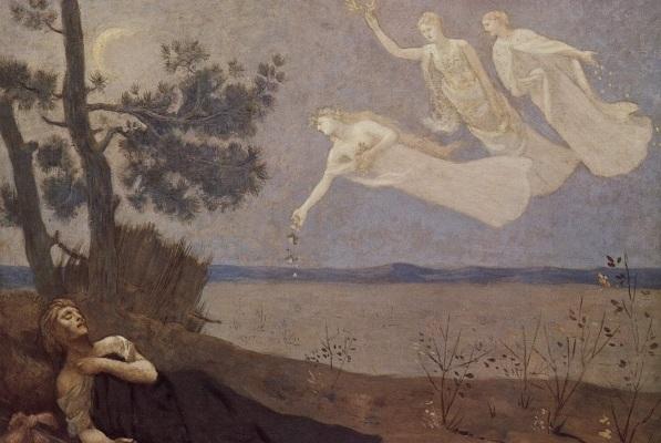 'Der Traum' de Pierre Cécile Puvis de Chavannes 1883