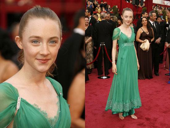 Saoirse Ronan a los 13 años en los Oscars