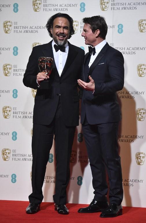 Alejandro Gonzalez Inarritu junto a Tom Cruise | AFP