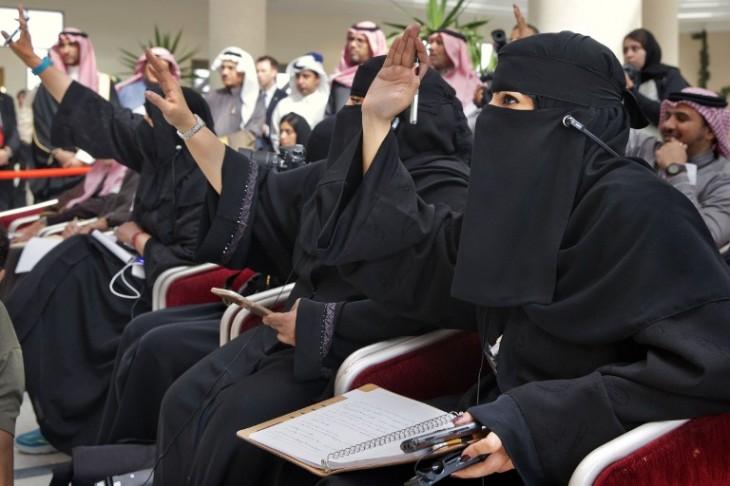 Mujeres usando el tradicional niqab | Archivo | Jacquelyn Martin / POOL / AFP