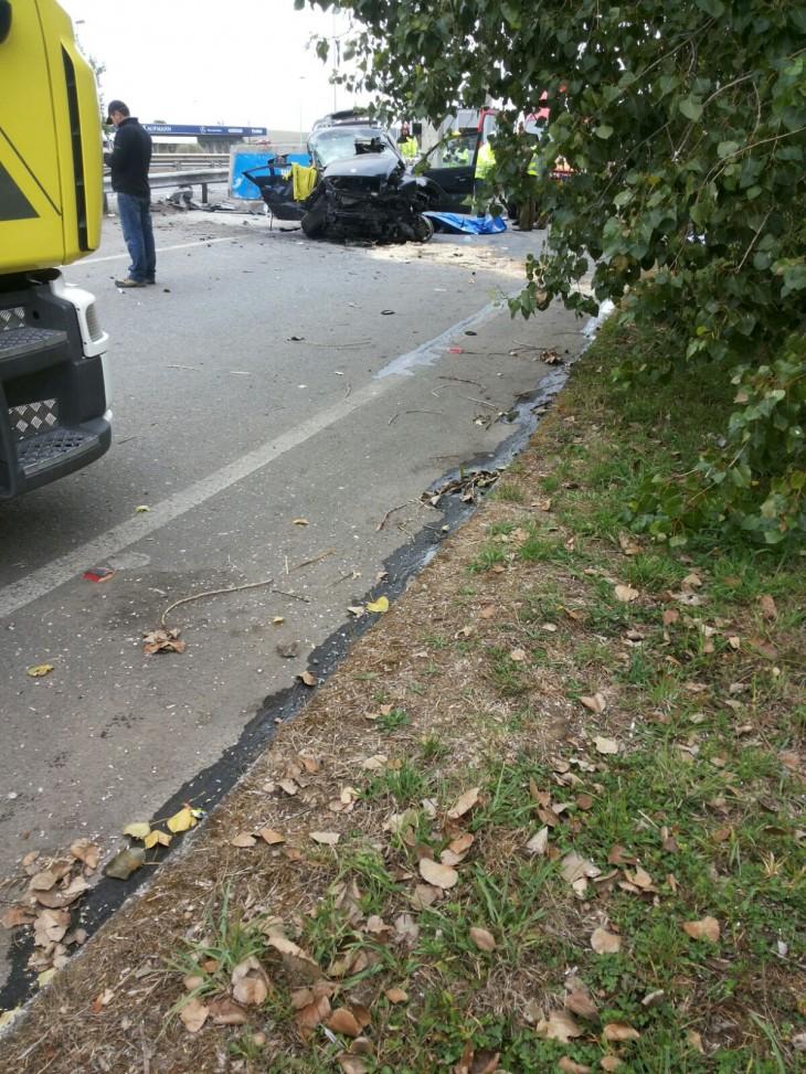 Accidente en Ruta 5 Sur