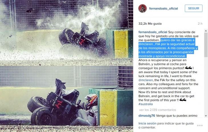 Instagram Fernando Alonso