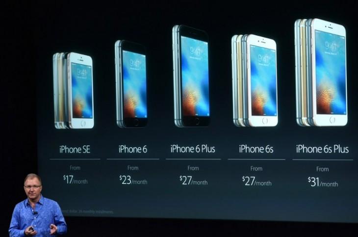 Evolución del iPhone hasta el SE | AFP