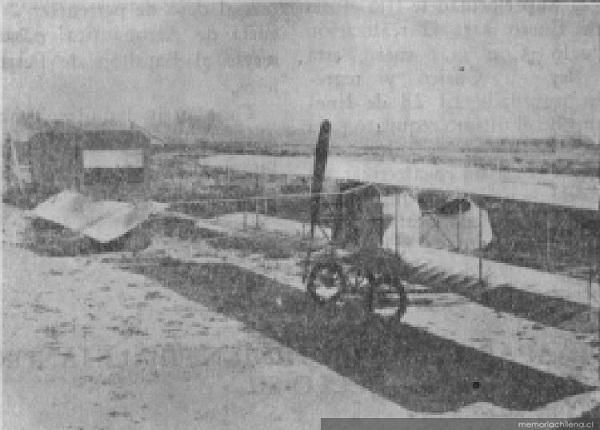 Avión Sánchez Baeza, del mismo tipo en que desapareció Bello
