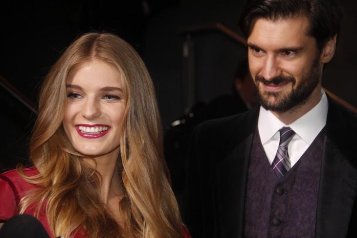 Josefina junto a su pareja, Darko | BBCL