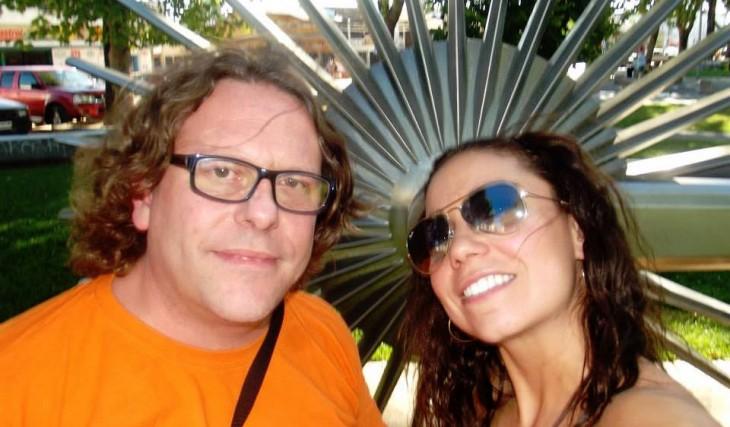 Chicho y su actual pareja | Facebook