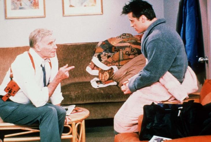 Charlton Heston en Friends