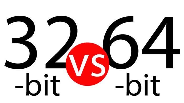 32 vs 64 Bits