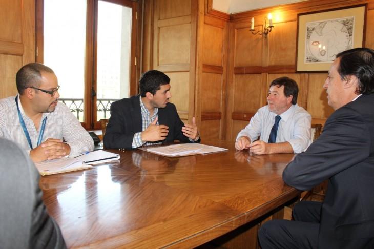 Reunión con Subdere | Municipalidad de Los Álamos