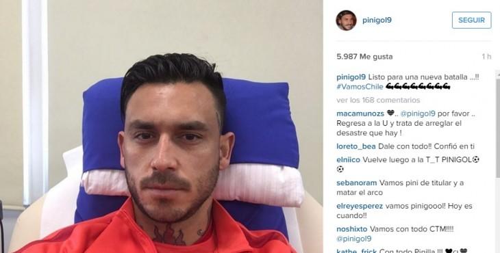 Instagram Mauricio Pinilla