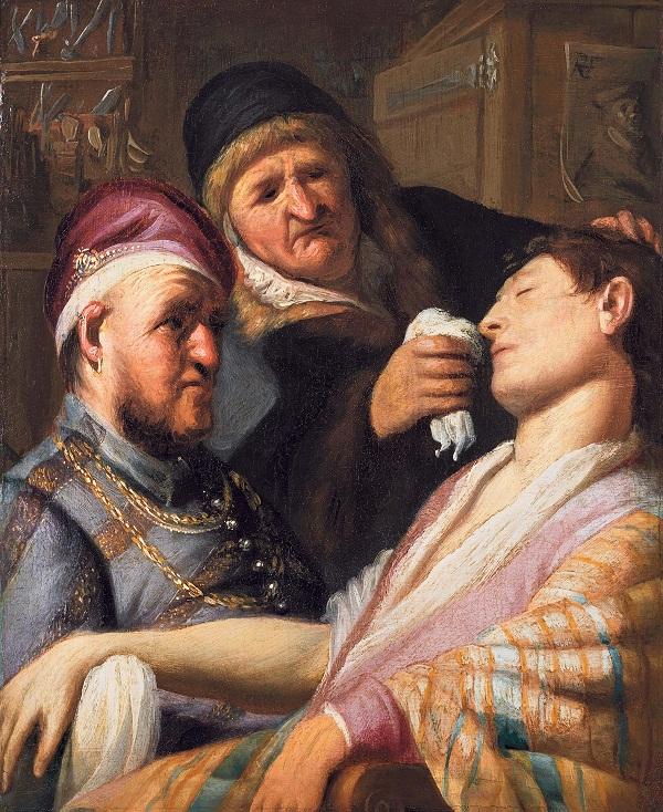 'El Paciente Desvanecito (El Olfato)' | Rembrandt