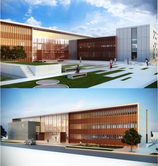 Proyecto nuevo edificio consistorial en Los Álamos