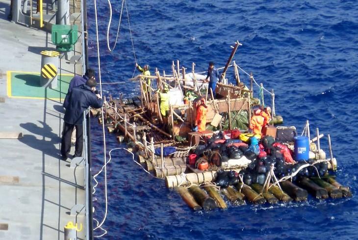 Rescate de la embarcación | Armada