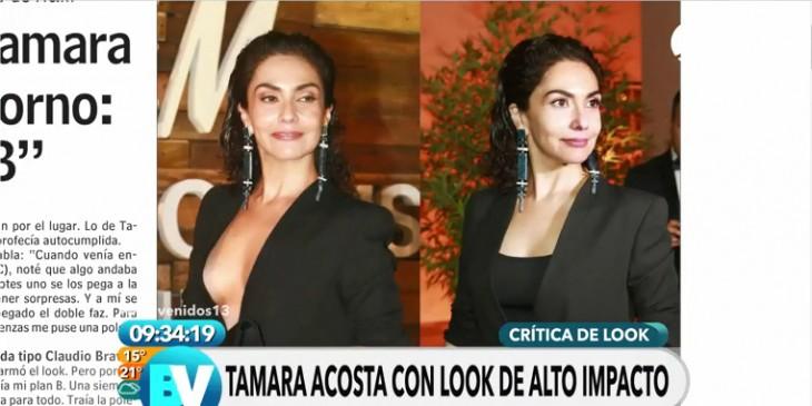 El antes y después de Tamara