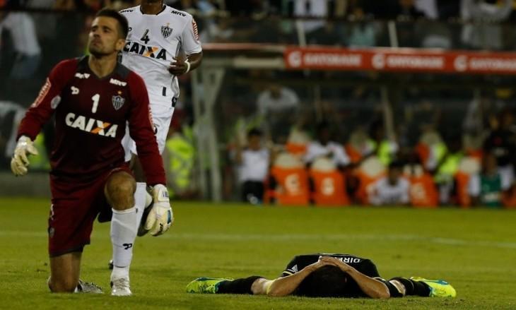 Tonso tras perder el gol / Francisco Longa / Agencia UNO