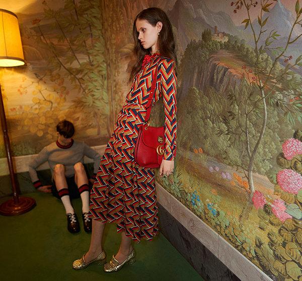 La modelo cuestionada | Gucci