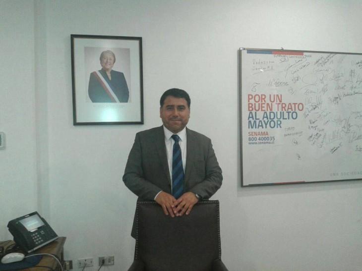 Rubén Valenzuela, Director Nacional Senama
