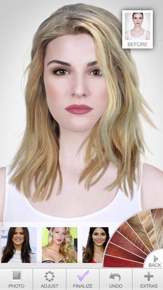 Hairstyles de Modiface - iTunes