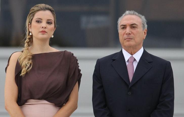 Marcela y Michel Temer (CC)