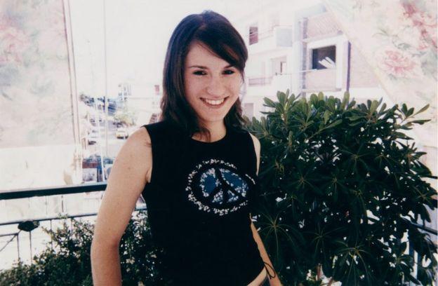 Joanna Giannouli a los 17 años