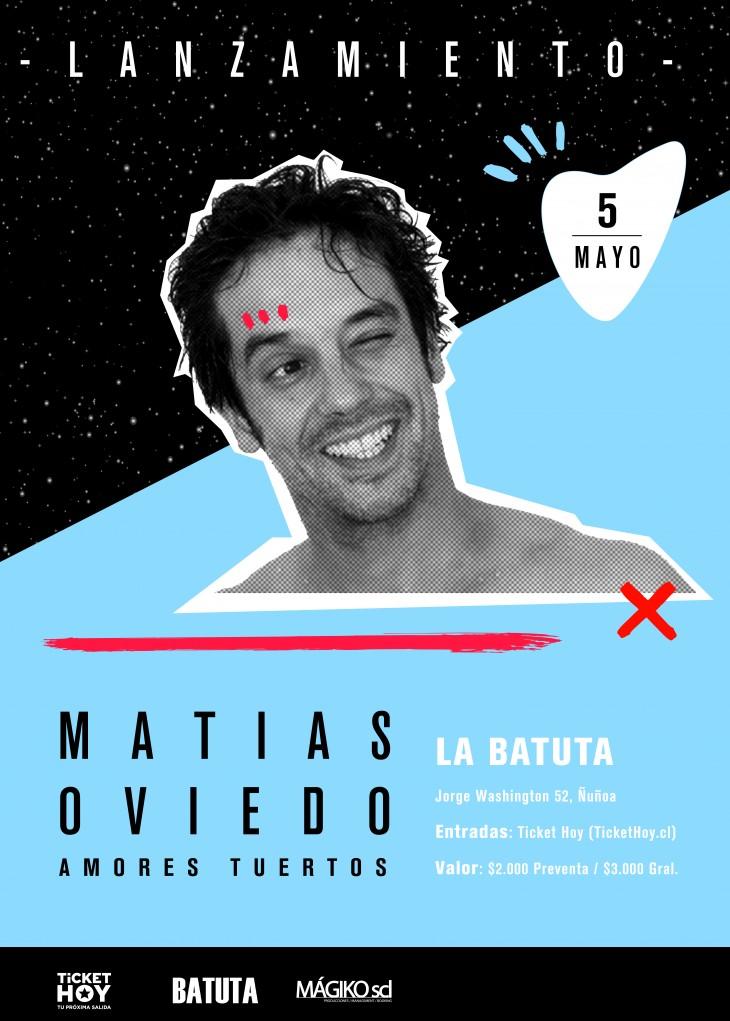 El lanzamiento de su nuevo álbum será el 5 de mayo en el bar La Batuta.