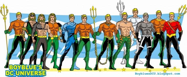 Los diferentes Aquaman