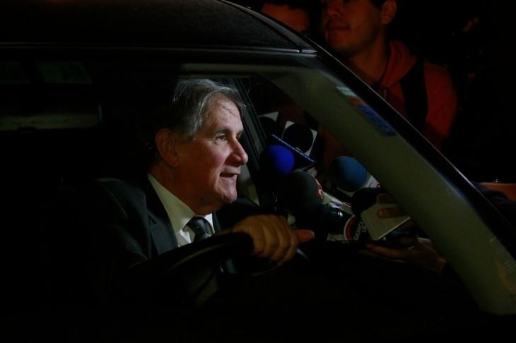 Familiares visitaron al ex presidente | Jorge Fuica | Agencia UNO
