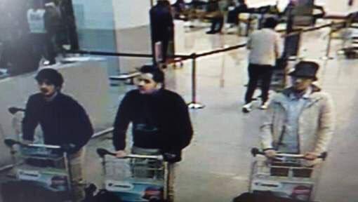Sospechosos de ejecutar atentados en Bruselas