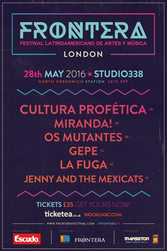 Afiche oficial del evento.