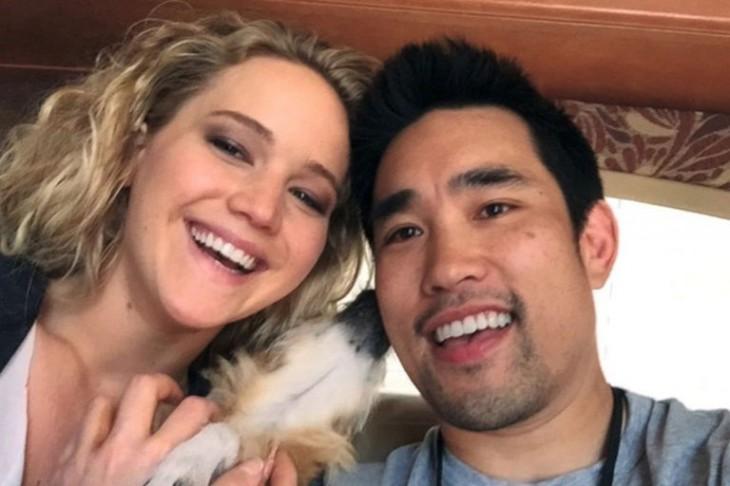 Jennifer Lawrence y Dalton Wong | Cosmopolitan