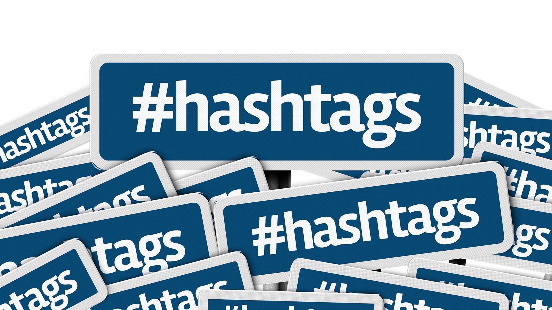 Resultado de imagen de hashtags