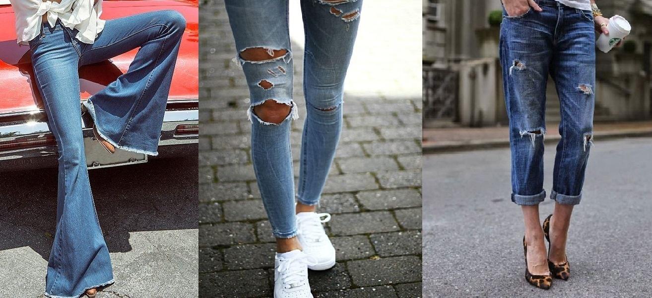 96253480d2 Los zapatos ideales para utilizar cada tipo de jeans y no fallar en el  intento