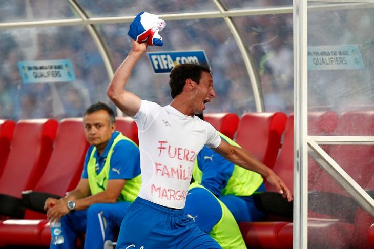 Michael Rios tras perder la final con O'Higgins | Archivo | Agencia UNO