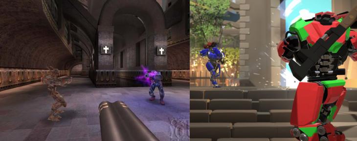 Quake 3 Arena y Reflex | ID Software y Turbo Pixel Studios