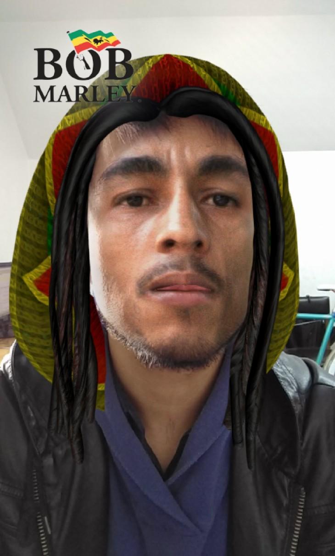 El filtro de Snapchat sobre Bob Marley | BBCL