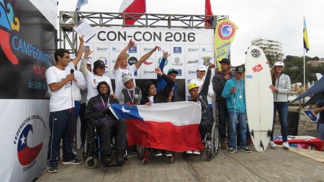 Selección chilena de surf adaptado | Jazmín Manosalva | RBB