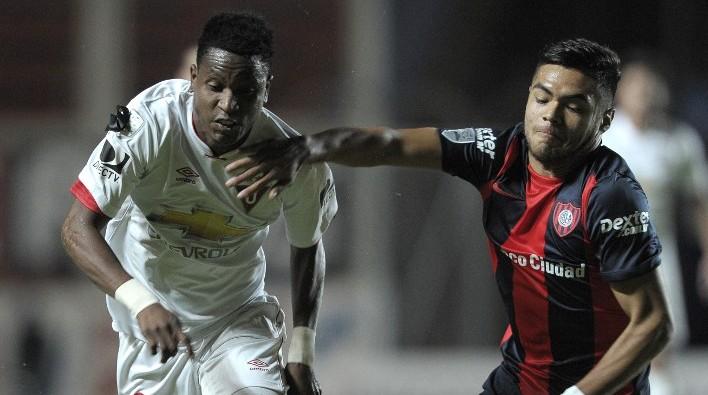 Díaz en San Lorenzo por Libertadores / Alejandr Pagni / AFP