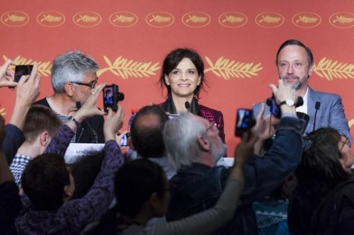 """Parte del elenco de """"Ma Loute"""".   AFP"""