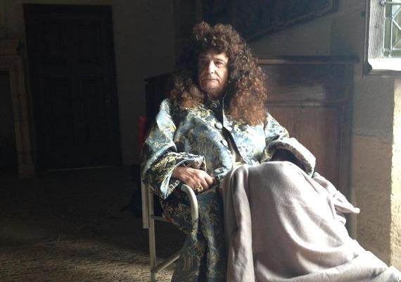Jean-Pierre Léaud como Luis XIV