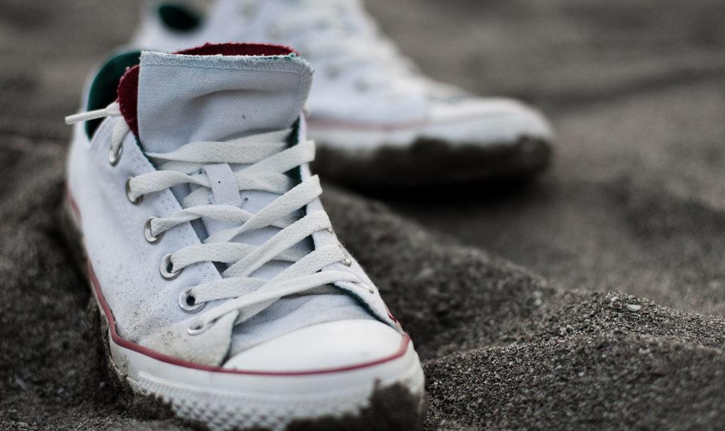 zapatillas converse blancas sin caña mujer