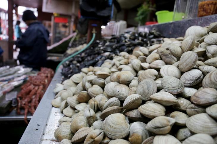 Disminuye venta de mariscos en Angelmó | CRISTIAN DUARTE/AGENCIAUNO