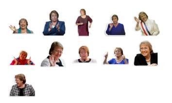 Bachelet Reactions / Telegram